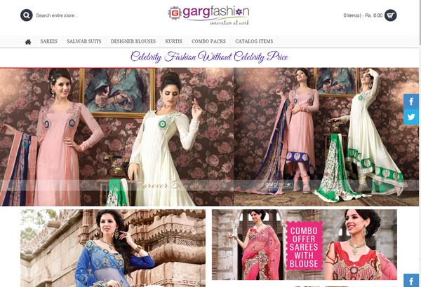 Garg-Fashion at onlyweb.in