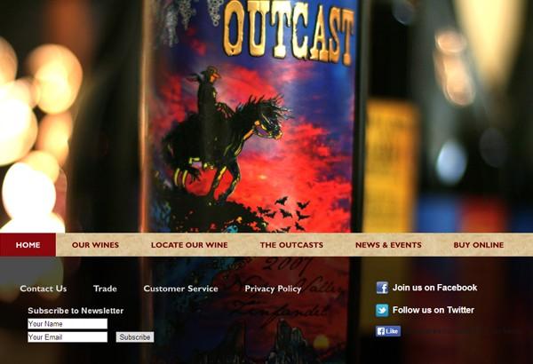 Outcast-wine portfolio