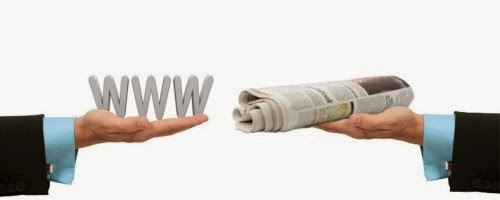 Online Media versus Print Media - OnlyWeb.in